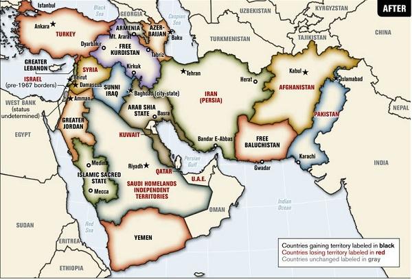 Büyük Ortadoğu Haritası