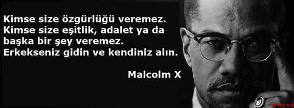 Malcolm X ve özgürlük