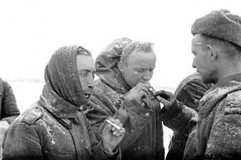 Stalingrad'da esir alınan Alman askerleri