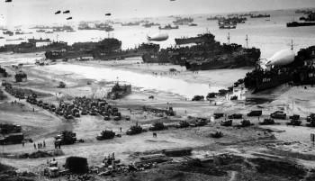 Normandiya Çıkarması'nın yapıldığı sahil