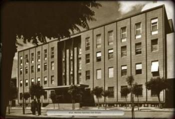 Merkez Bankası'nın ilk Genel Müdürlük binası.