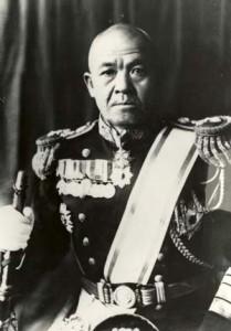 Japon komutan Chuichi Nagumo