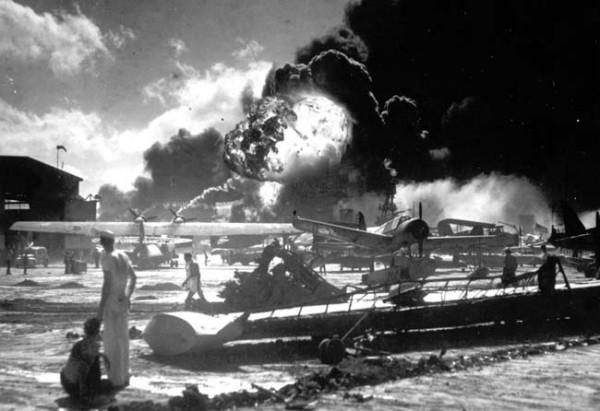 Baskın sonrası Pearl Harbor