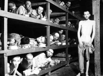 Nazi toplama kampında Yahudiler
