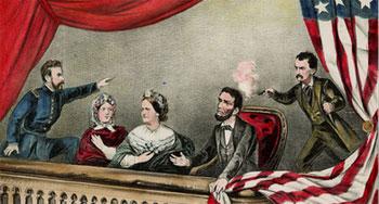 Abraham Lincoln'e suikast anı