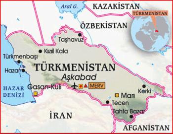 Dandanakan haritası