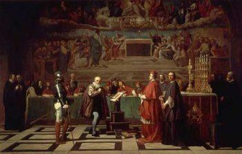Galile Engiziyon Mahkemesi'nde yargılanırken